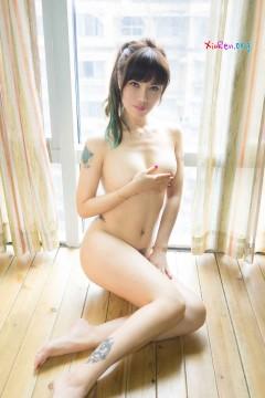 [TuiGirl] 推女郎 第75期 败火骨感成熟女郎何奕恋艳丽纹身人体私房 34P