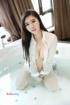 [WingS] VOL.006 丰满年轻骚鲍沐若昕浴室妖娆湿身白衫私密美拍 55P