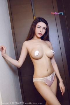[CANDY] 第17期 挺拔大波辣模夏小秋秋秋粉嫩露骨半裸艺术写真 42P