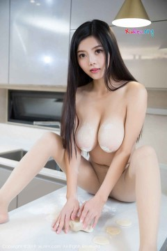 [秀人网XiuRen] N01321 火辣波霸尤物林美惠子厨房狂野情趣创意人体唯美私房 45P