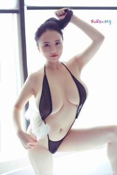 [秀人网XiuRen] N01431 奇尺大乳浓艳国模蕊蕊ruirui浴室勾魂私密商务写真 45P