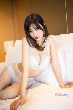 [秀人网XiuRen] N01695 高冷长腿网红模特杨晨晨sugar丝袜短裙福利美女写真 91P