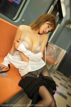 [秀人网XiuRen] N01890 黑长直细腰酥臀网红模特陆萱萱户外地铁创意内衣写真 109P